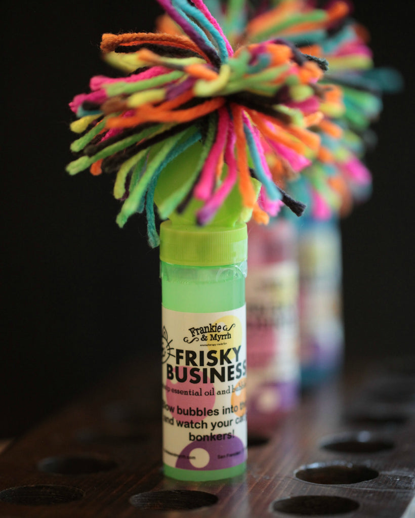 Frisky Business - Catnip Bubbles For Your Crazy Kitty