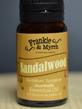 Sandalwood Essential Oil - 10ml - 6% dilution in Coconut Oil
