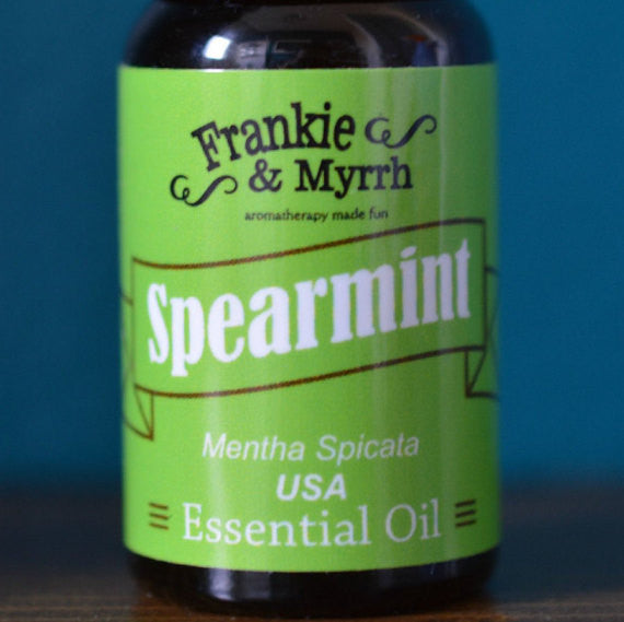 Spearmint Essential Oil  |  Organic Food Grade  |  10mL/ .33 oz