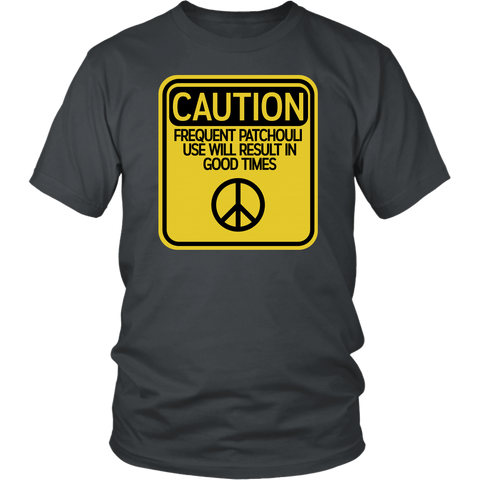CAUTION Patchouli Unisex T-Shirt