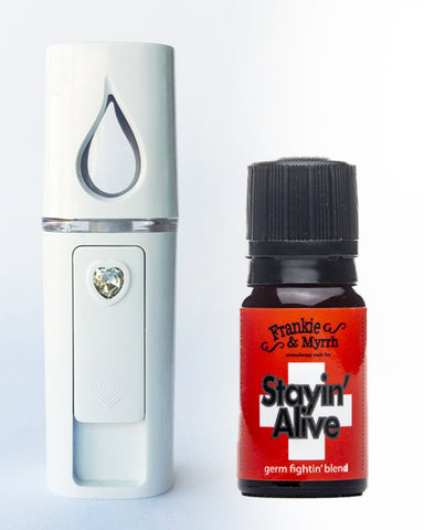 Pick a Blend w/ Spray Misty for Me Portable Diffuser
