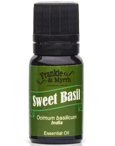 Sweet Basil Essential Oil