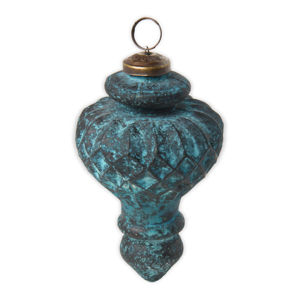 Textured Antique Glass Ornament
