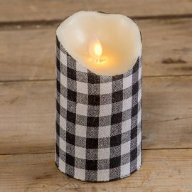 Moving Flame Pillar Candle