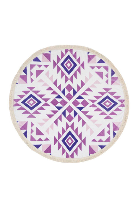 Cypress Round Towel