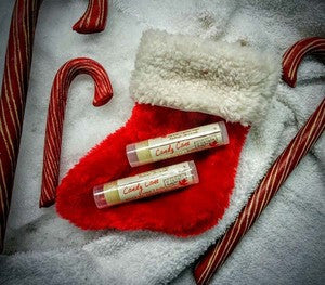 Lip Silk Balms: Frost, Candy Cane, Maple and Colada Kiss
