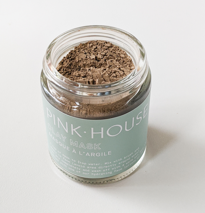 Mask - Clay Pink House Organics
