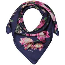 Bloomfield Silk Neckerchief Scarf