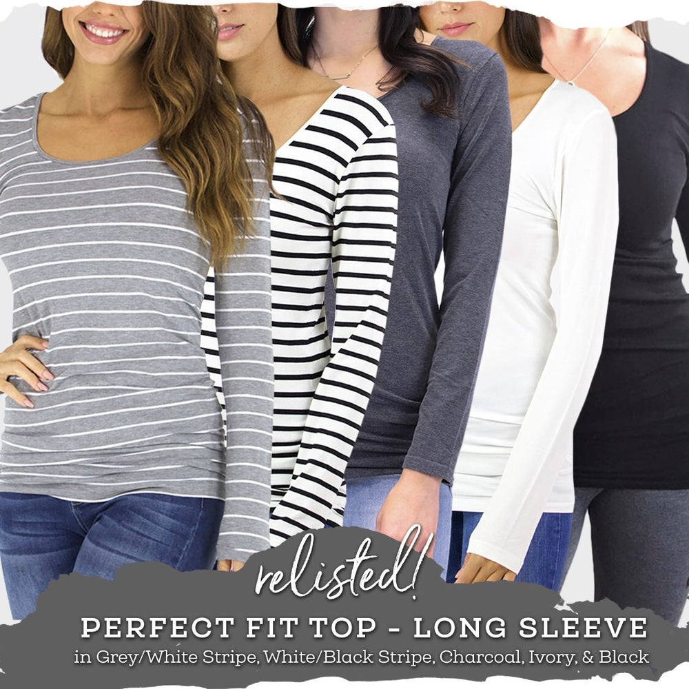 Perfect Fit top long sleeve