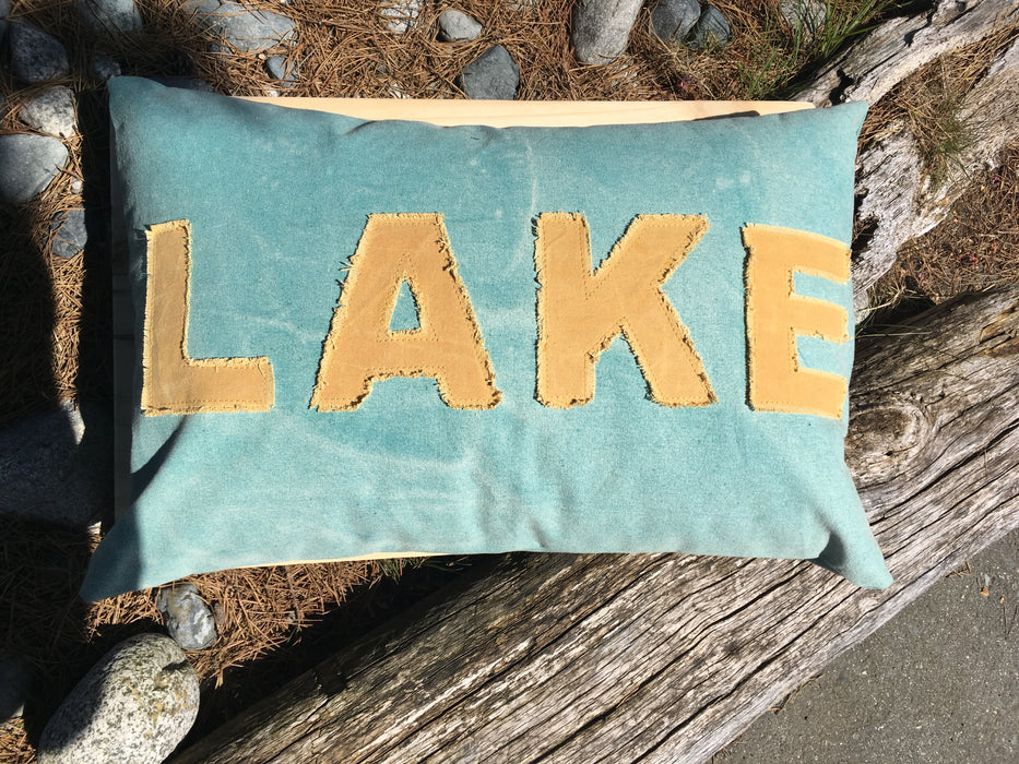 Lake Pillow - Large 8006