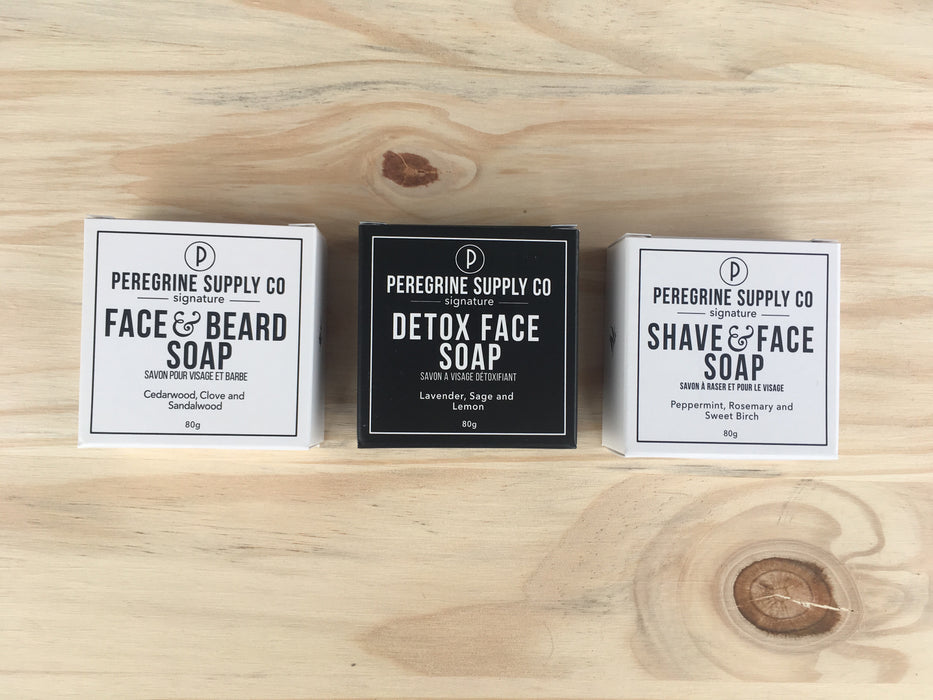 Men's face soap