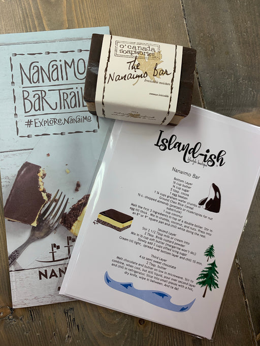 Nanaimo Bar Card