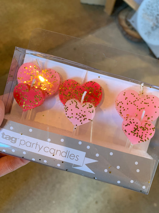 Heart shape Party Candles