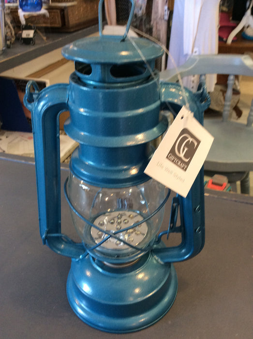 Light Blue LED Lantern