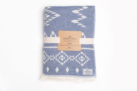 "Coastal Throw - Fleece ""Tofino Towel"" Blankets"