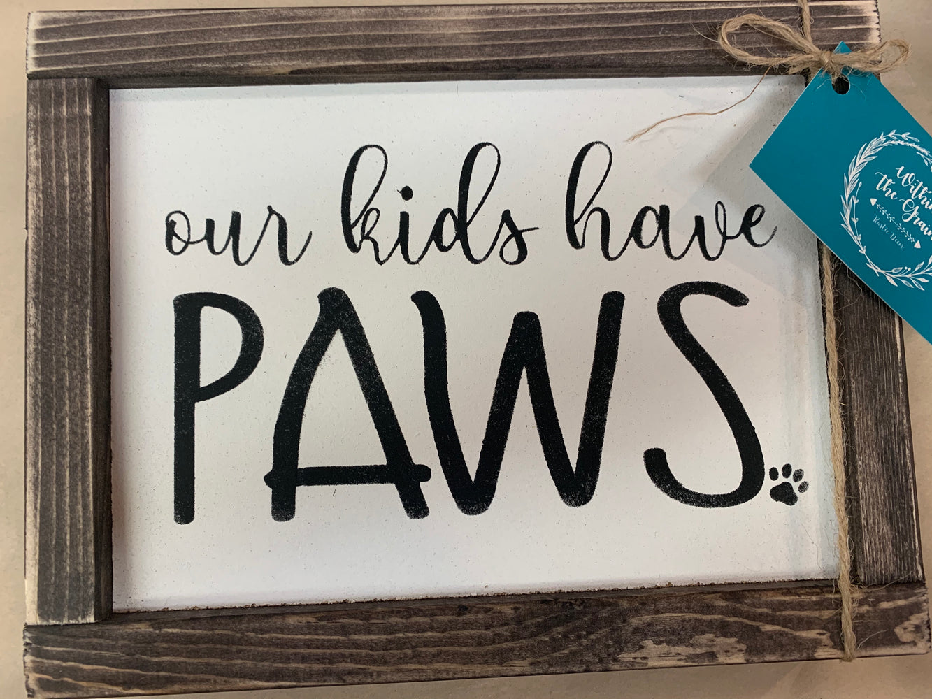 Our Kids have paws - Art Consign