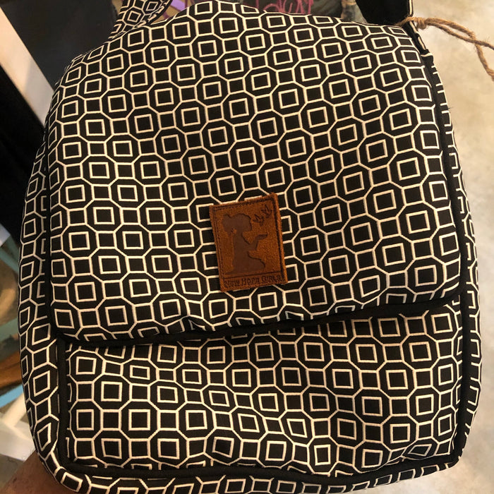 Laptop carrier and cross body messenger bag New Hope Girls