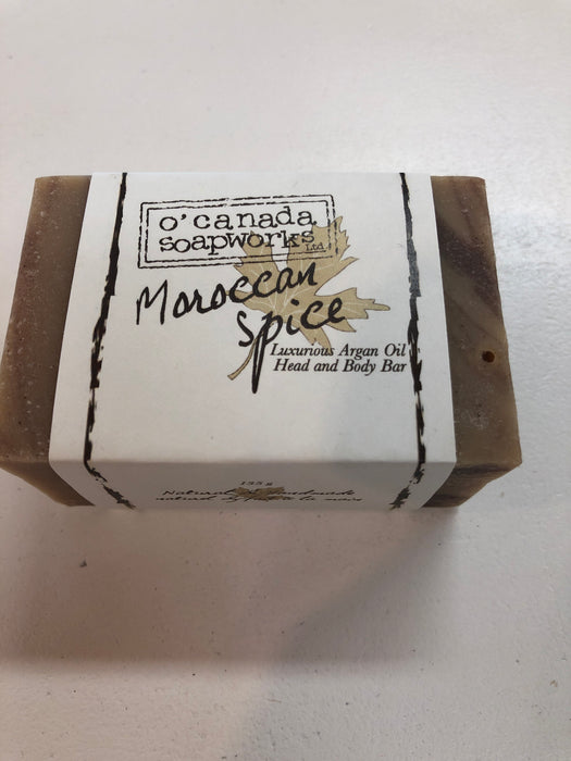 Moroccan Spice Head And body bar