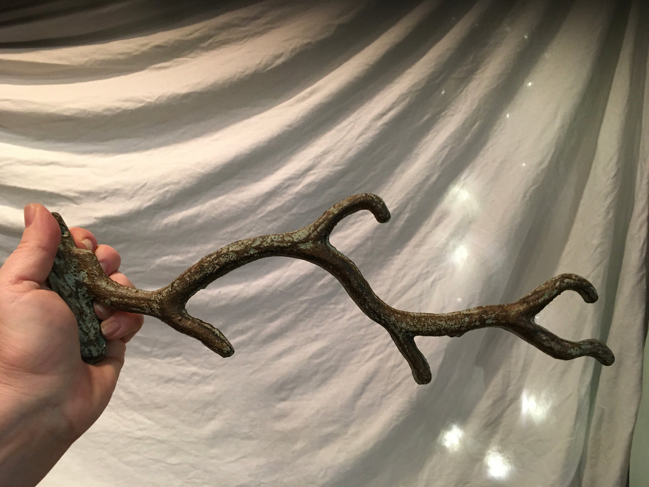 Cast Iron Branch Wall Hook