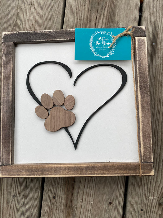 Paw Print 3D - Consign