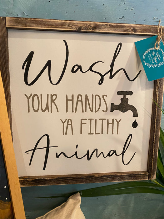 Wash your hands consignment