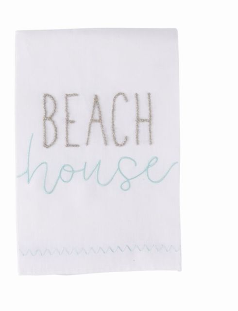 Beach French Knot Towel 4405237