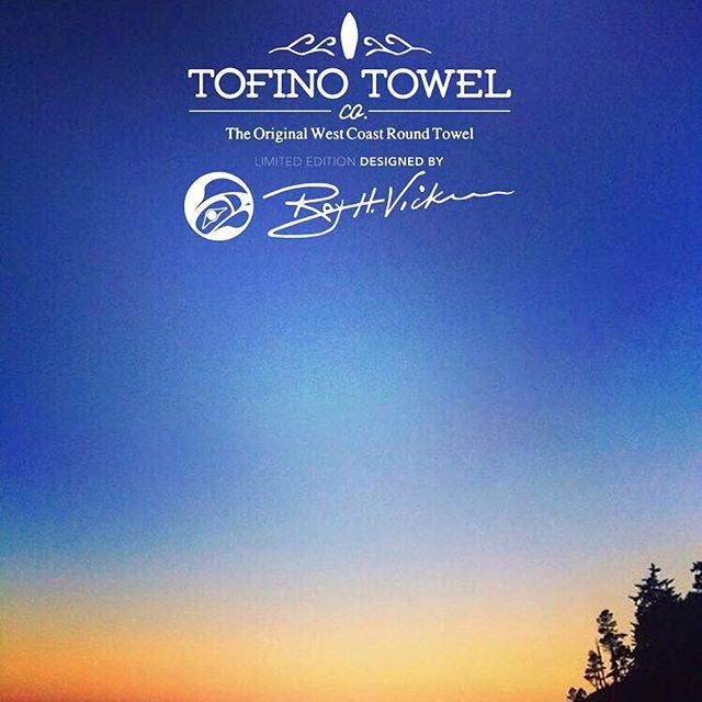 Limited Edition Roy H. Vickers Tofino Towel