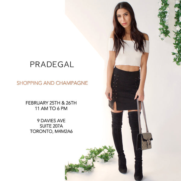 Join us for Shopping & Champagne!