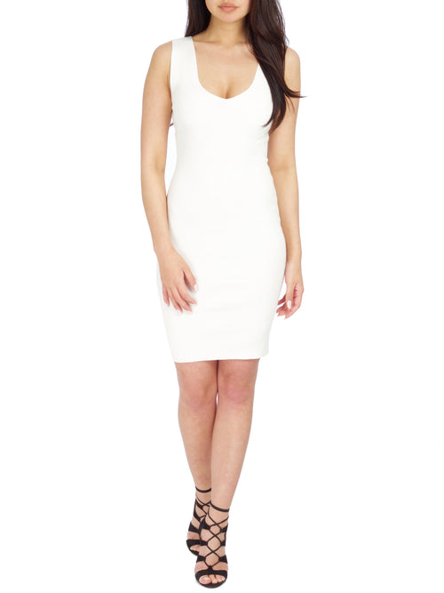 Cami Ribbed Mini Dress - PRADEGAL