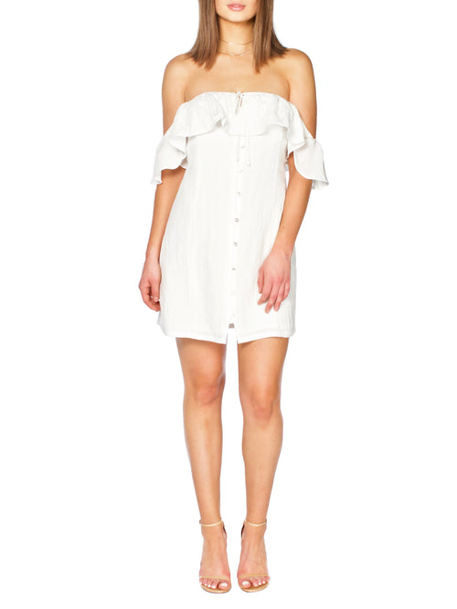 COHAN Ruffled Dress - PRADEGAL