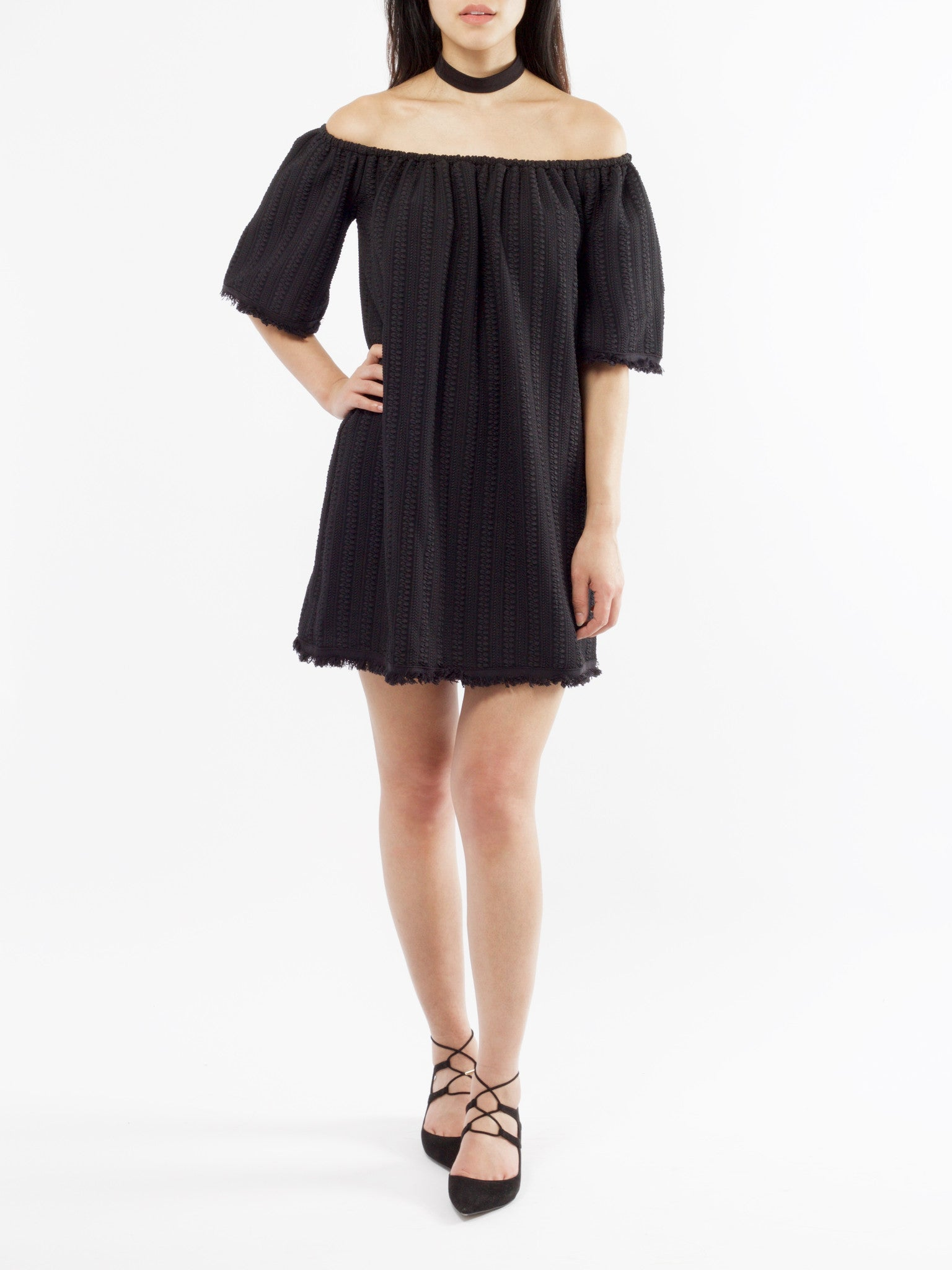 Adina Off Shoulder Dress - PRADEGAL