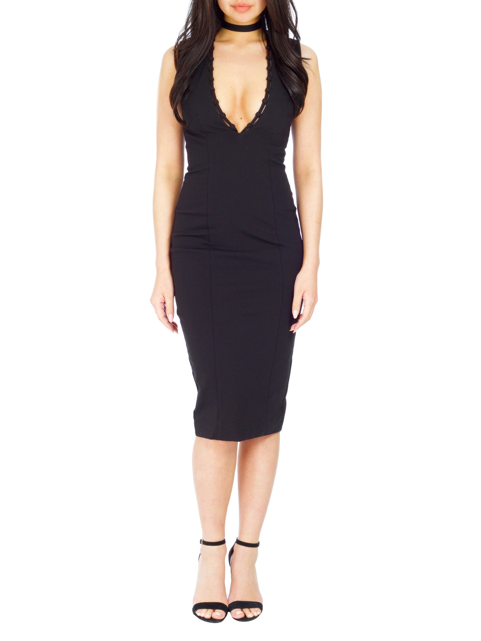 Superstition Dress - BLACK - PRADEGAL