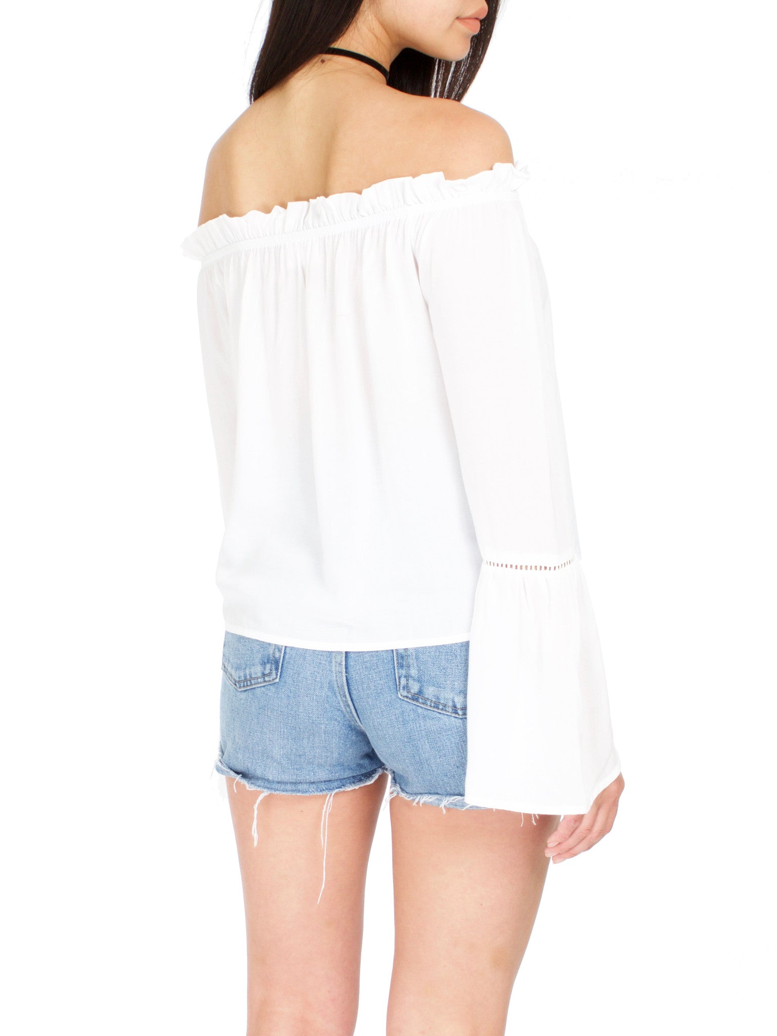 Mykonos Off The Shoulder Top - PRADEGAL