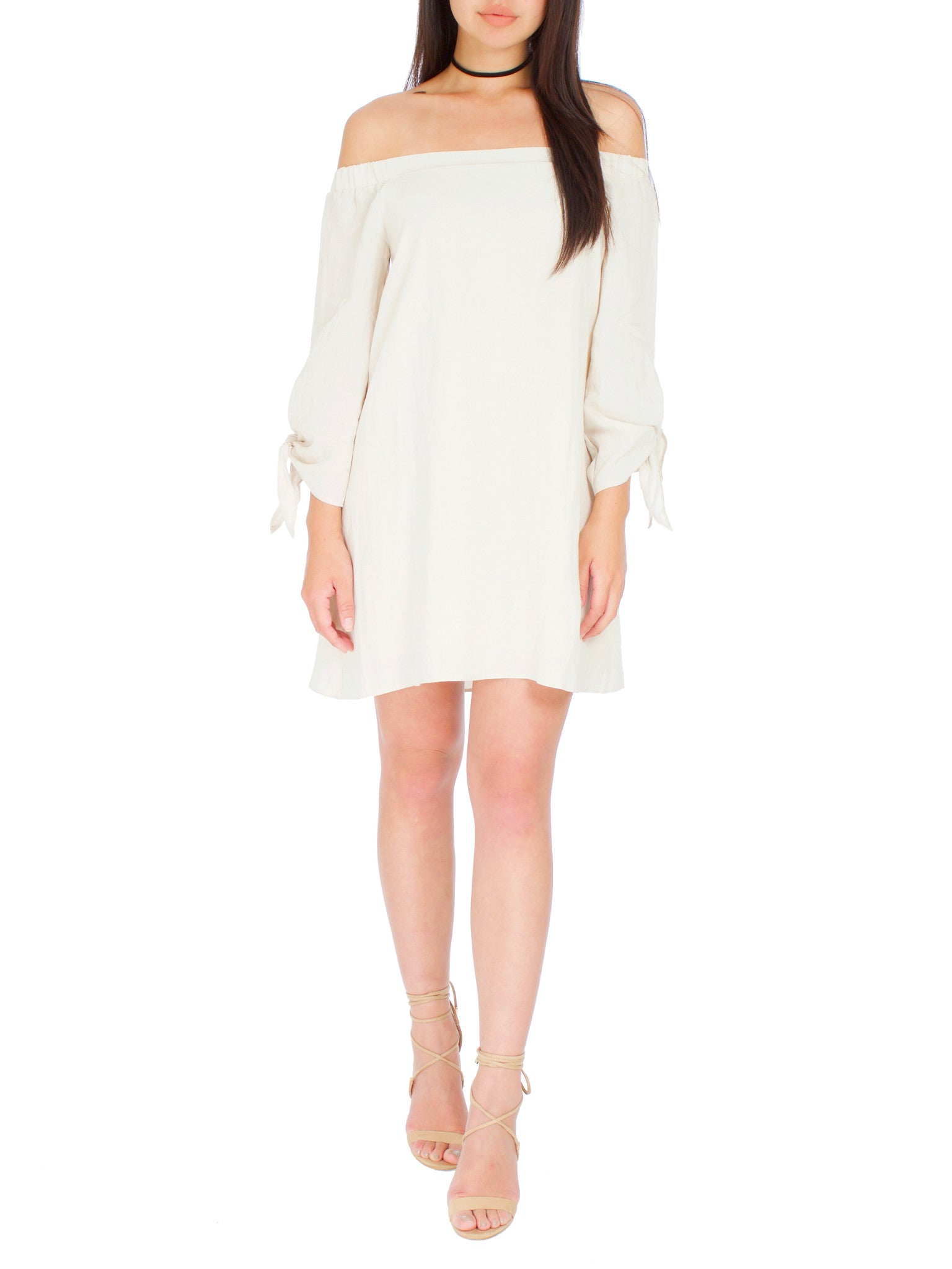 Sandy Off The Shoulder Dress - PRADEGAL
