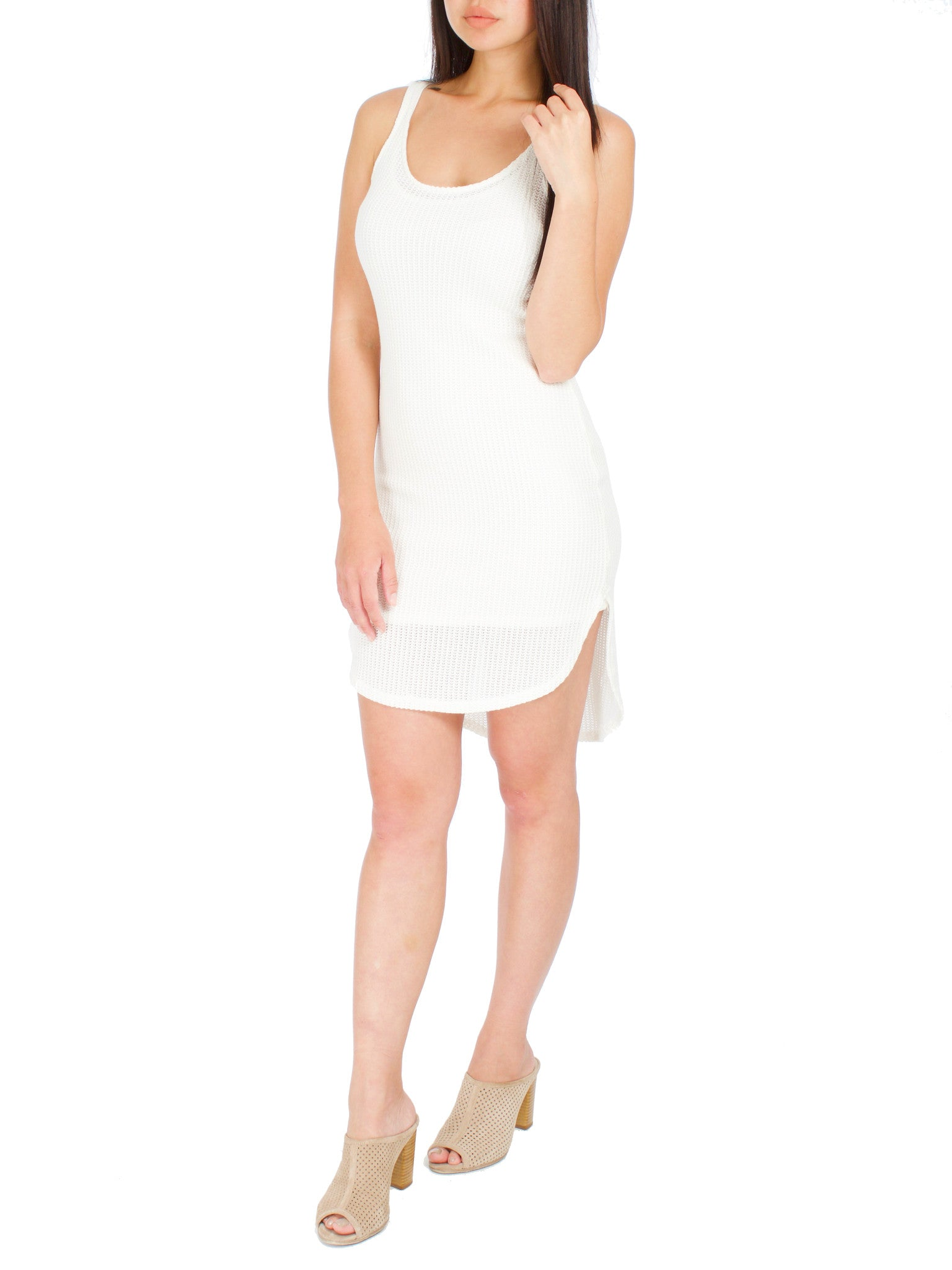 Two Way Knit Dress - PRADEGAL