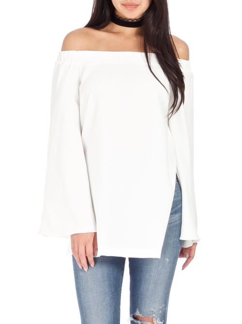 Lindsey Off The Shoulder Blouse - PRADEGAL