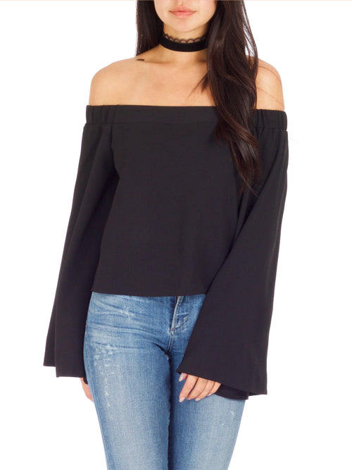 GRACEY Off The Shoulder Top - PRADEGAL