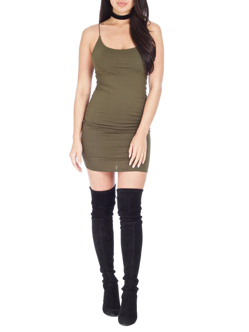 Olive Kimmi Mini Dress - PRADEGAL