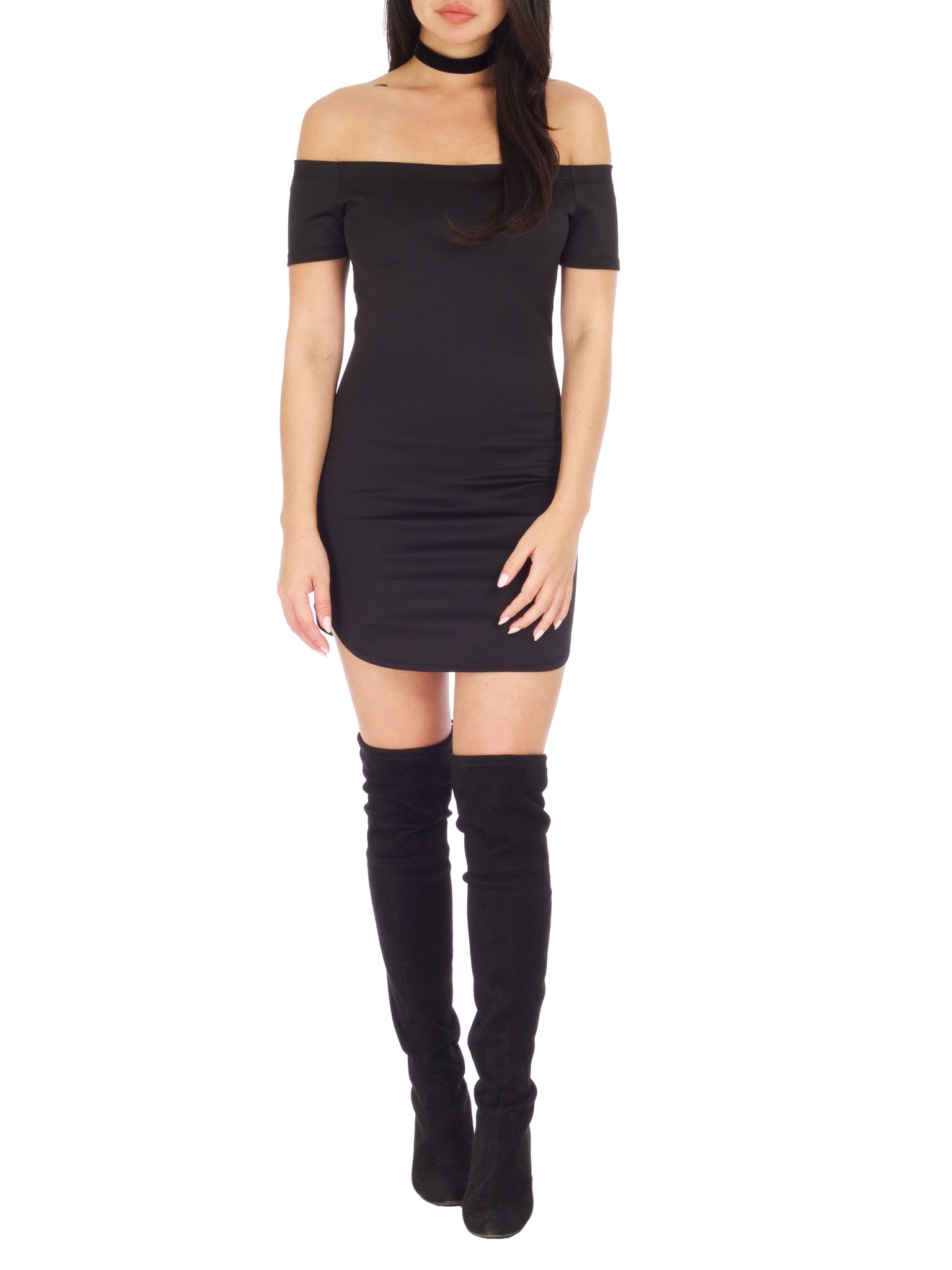 Scoop Me Mini Dress - PRADEGAL