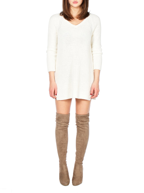 TEIGEN Mini Sweater Dress - PRADEGAL