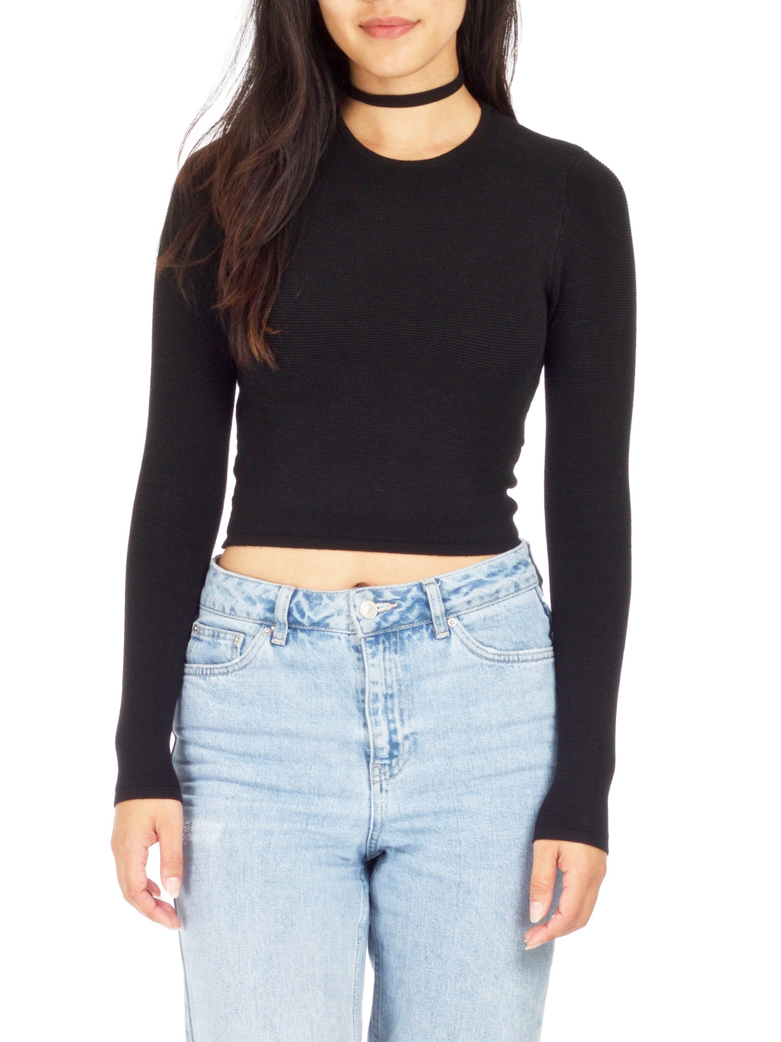 Drew Knit Ribbed Crop top - PRADEGAL