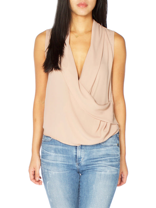 Sienna Blush Blouse - PRADEGAL