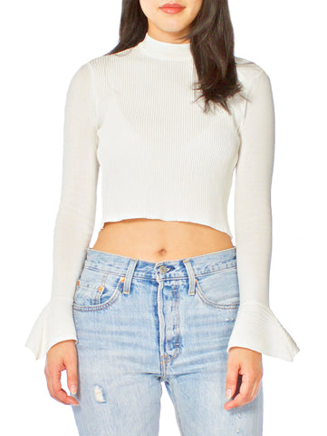 Chainlink Off The Shoulder Top