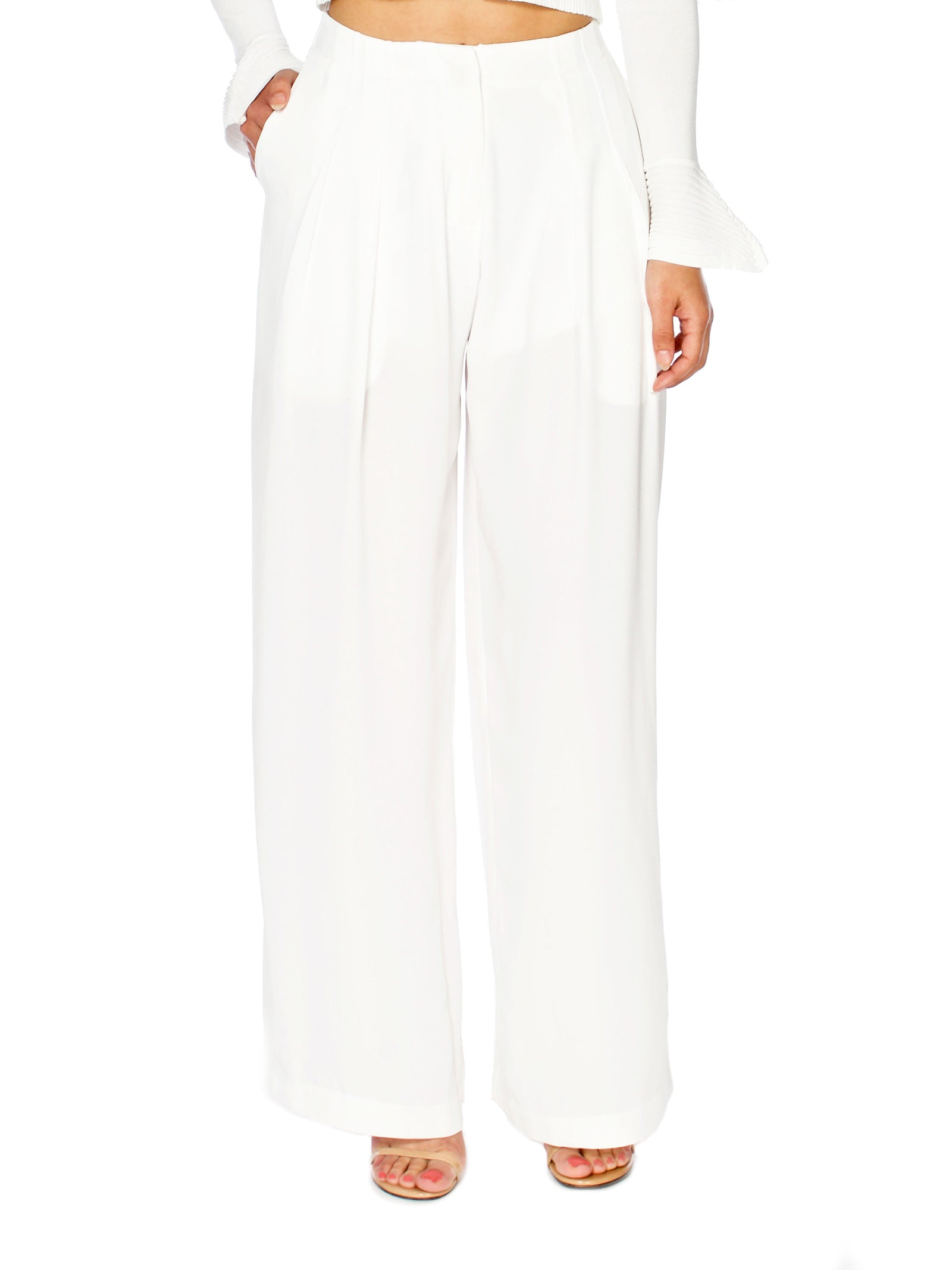 Morgan Wide Leg Trousers - PRADEGAL
