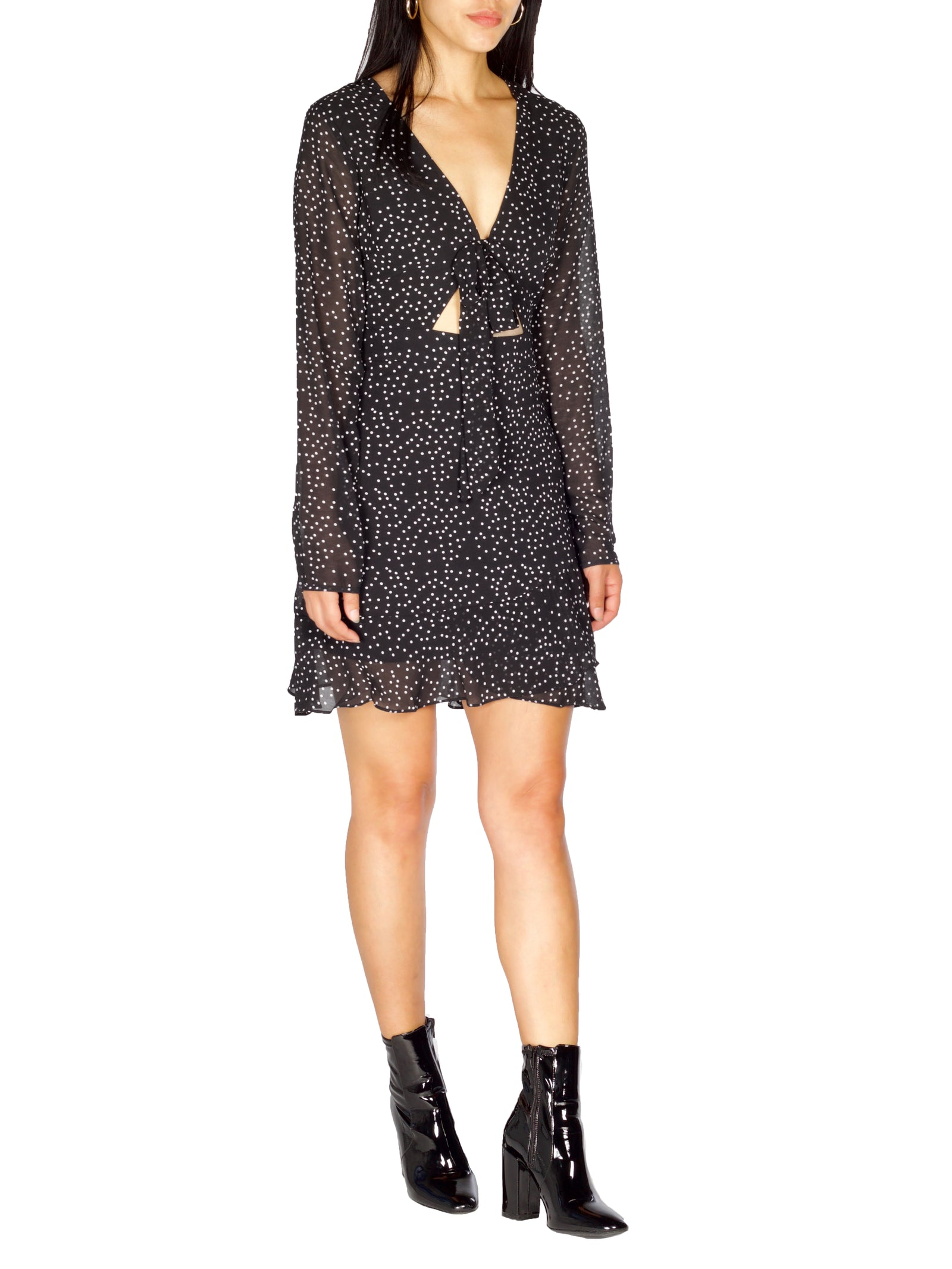 Melrose Polka Dot Dress - PRADEGAL