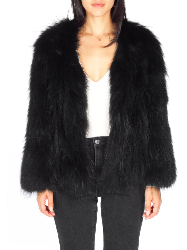 GHALI Fur Jacket - PRADEGAL