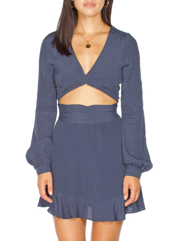 Drew Knit Ribbed Crop top
