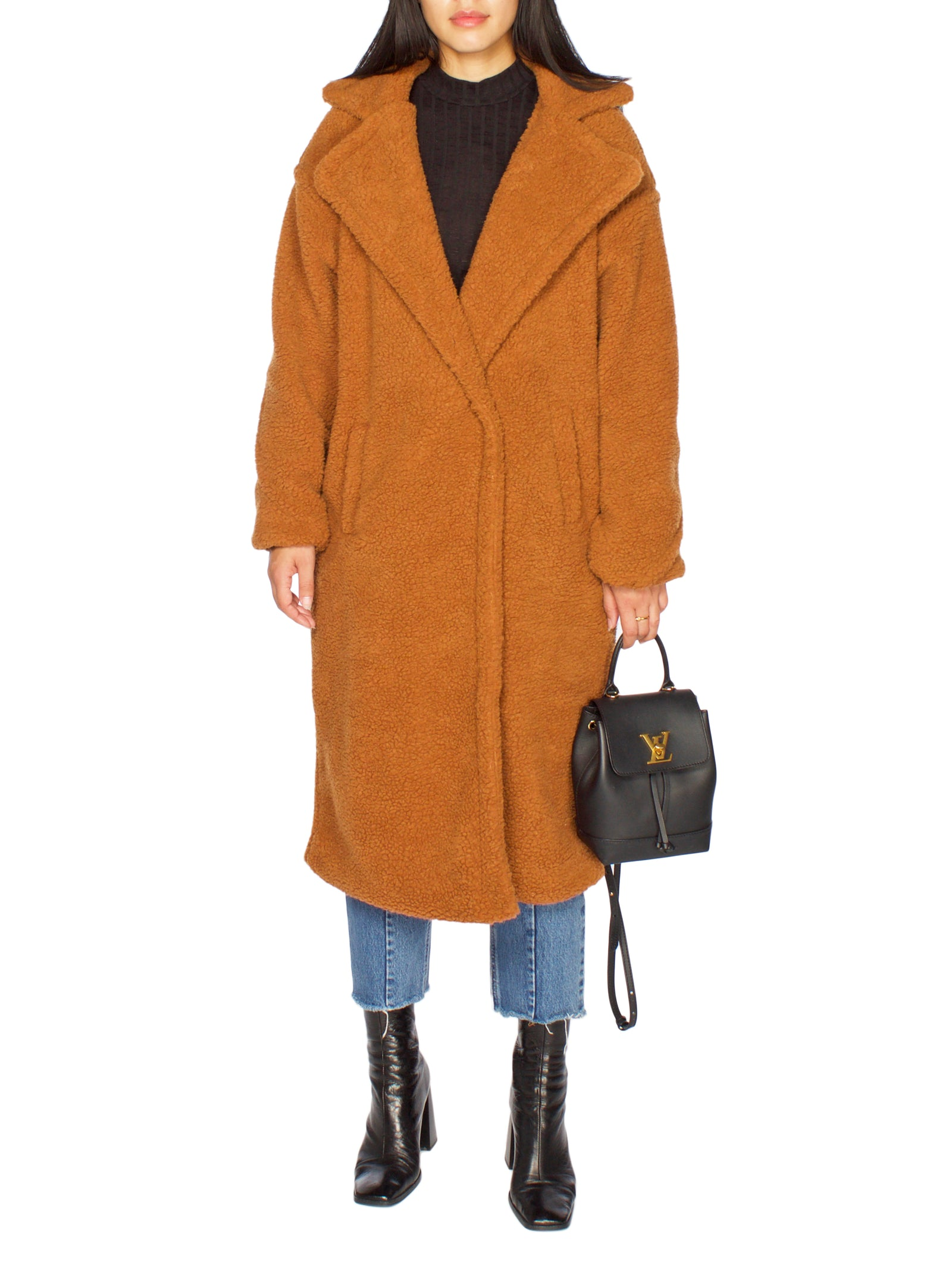 LISA Oversized Teddy Bear Coat - PRADEGAL