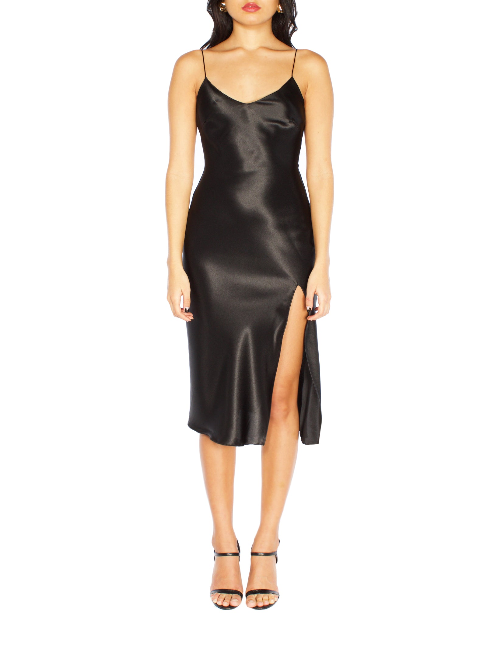 DEDE Midi Slit Dress - PRADEGAL