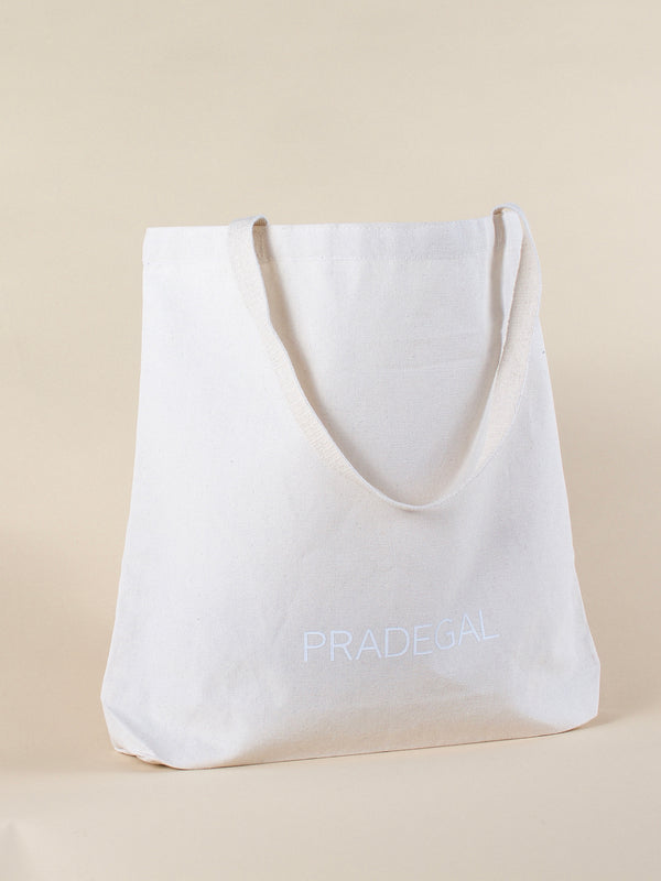 'CARRY' Canvas Tote Bag - PRADEGAL